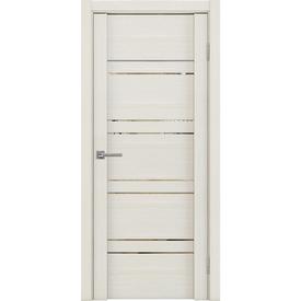 Полотно дверное остекленное Z1 80х200 см, экошпон, серена керамика в Калининграде