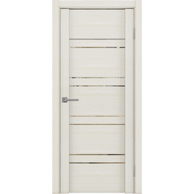 Полотно дверное остекленное Z1 70х200 см, экошпон, серена керамика в Калининграде