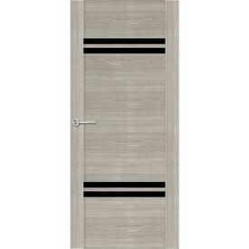 Полотно дверное остекленное Z2 60х200 см, экошпон, шале седой в Калининграде