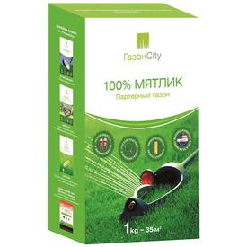 Семена газонной травы ГазонCity Мятлик 100% Партерный газон 1кг в Калининграде