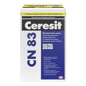 Ремонтная смесь Ceresit CN 83 мешок 25 кг в Калининграде