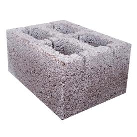 Блок стеновой 4-х пустотный керамзитобетонный 20х30х40 см Росдым в Калининграде
