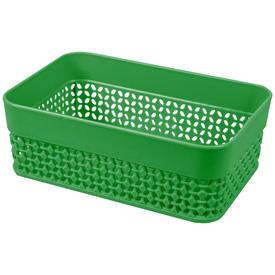 Корзинка для хранения Plast Team OSLO, А6, зеленый, 170х113х60 (PT1349) в Калининграде
