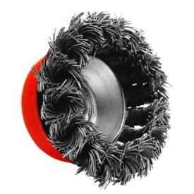 Щетка чашечная крученая на УШМ 65мм проволока 0,5мм OSBORN в Калининграде