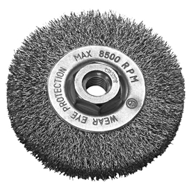 Щетка диск.корд.стальн.пров 0,27мм 115х12 М14х2 OSBORN в Калининграде