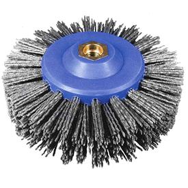 Щетка дисковая полимерная на УШМ 140х55мм М14 Р60 OSBORN в Калининграде