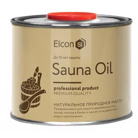 Масло для защиты деревянных полков в банях и саунах Elcon Sauna Oil 0,5л в Калининграде