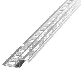 Профиль д/плитки для ступеней РП-АКП-15 10x14х2500мм анод.мат. серебро (10мм) в Калининграде