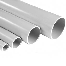 Труба гладкая жесткая ПВХ D 20 (3м) серый (93м/31шт/уп) ИЭК в Калининграде
