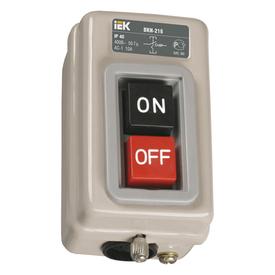 Выключатель кнопочный ВКИ-211 3Р 6А 230/400В IP40 ИЭК в Калининграде