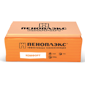 Пенополистирол экструзионный ПЕНОПЛЭКС КОМФОРТ® 30х585х1185 мм Т-15 в Калининграде