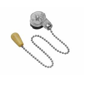 Выключатель для бра с цепочкой серебро REXANT в Калининграде
