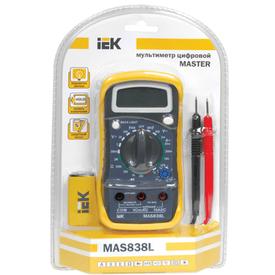 Мультиметр цифровой Master MAS830L ИЭК в Калининграде