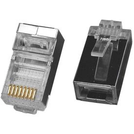 Разъем компьютерный штекер RJ-45 FTP для кабеля кат. 5Е экран GENERICA в Калининграде
