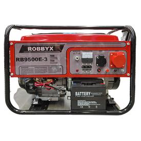 Генератор бензиновый трехфазный RB9500E-3 7,5кВт/7кВт, 1розетка 380V, 1 розетка 220V (до 1,5кВт) в Калининграде