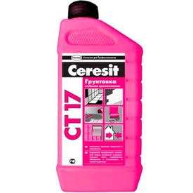 Грунтовка глубокопроникающая CERESIT CT17 1л